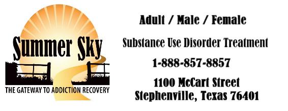 Substance Use Disorder Treatment-Texas-Summer Sky